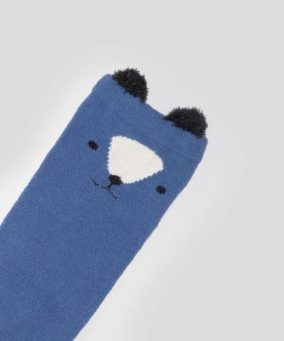 Високи чорапи с куче за бебета и деца от 0 до 3 години