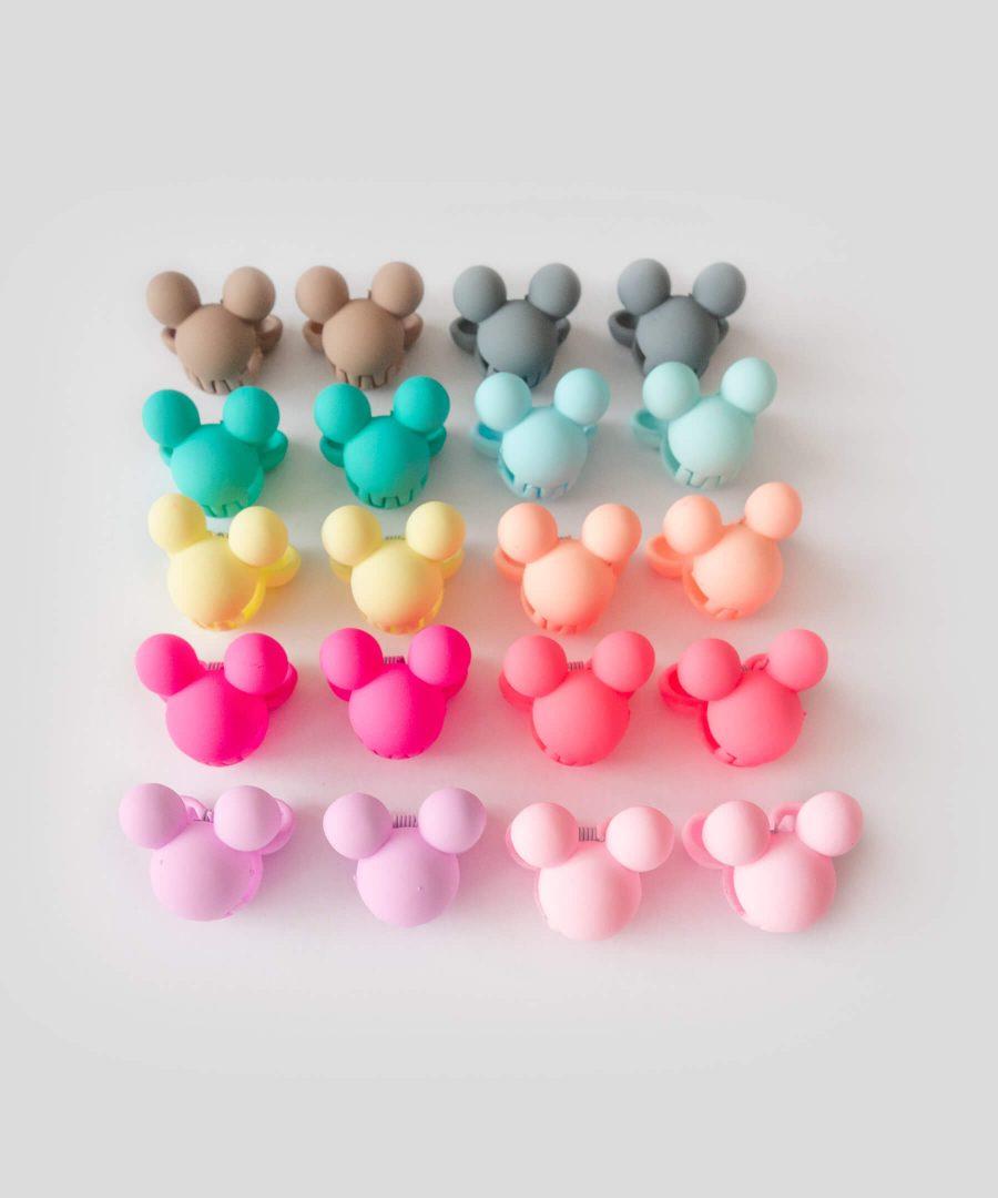Бебешка и детска шнола за коса мини маус 2 бр., в различни цветове