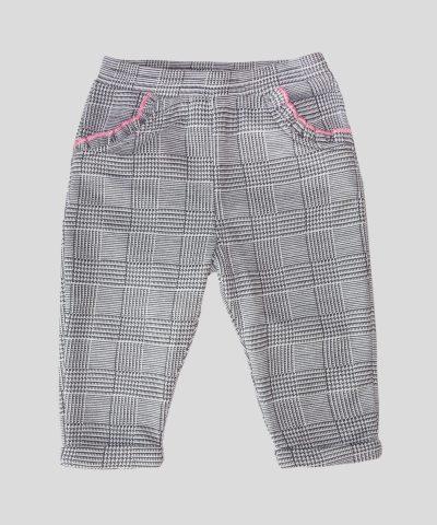 Бебешки и детски панталон каре за момиче