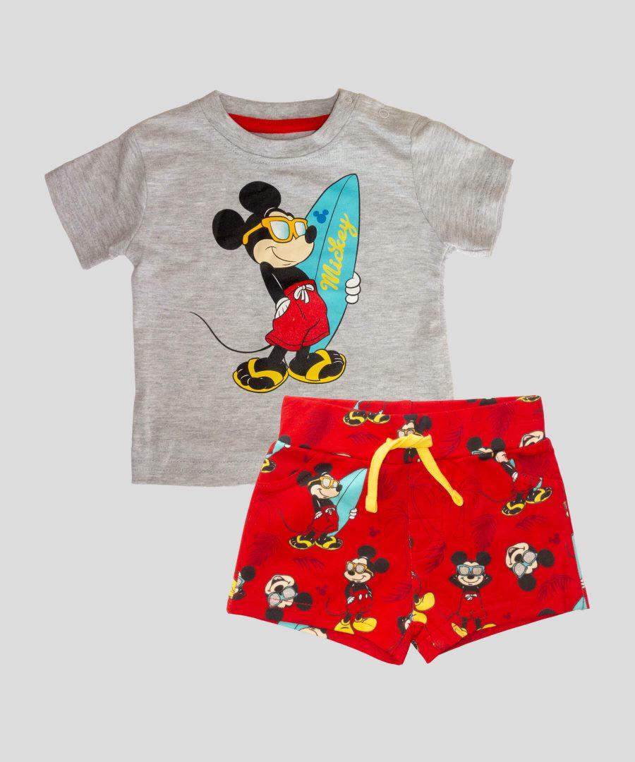 Бебешки и детск комплект Мики Маус сърфист за момче