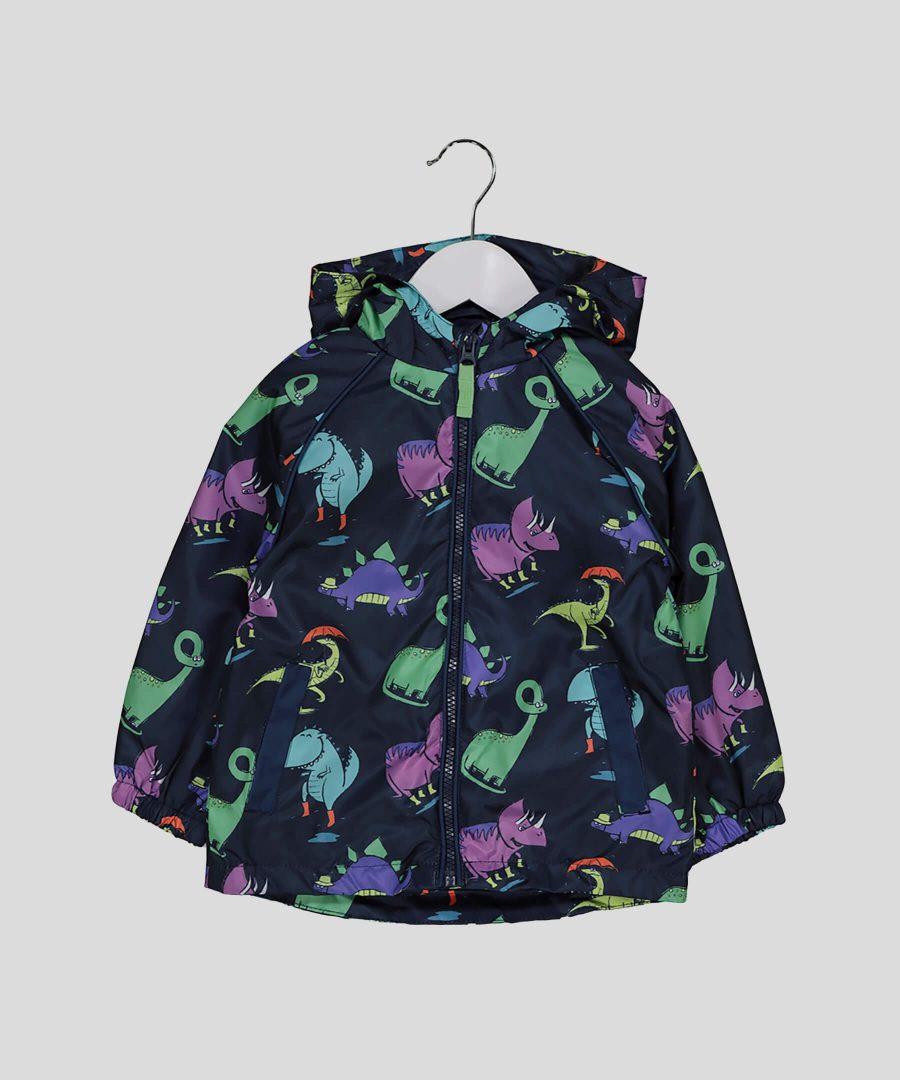 Бебешко и детско тънко яке с динозаври за момчета