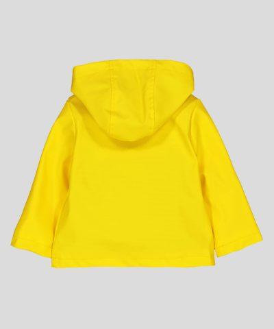 Бебешко и детско яке за дъжд в жълт цвят