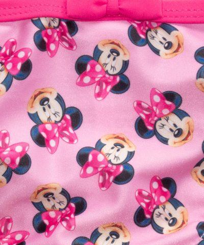 бебешки и детски бански Мини Маус в розов цвят за момиче
