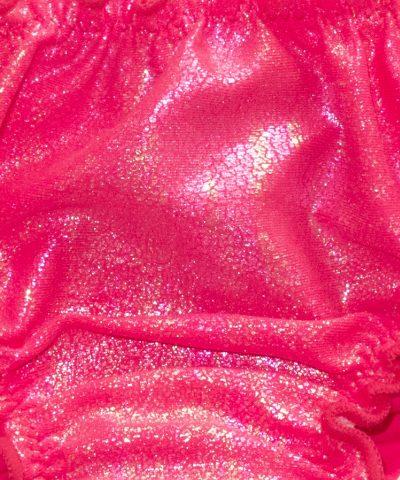 бебешки бански половинки в цвят циклама за момиче