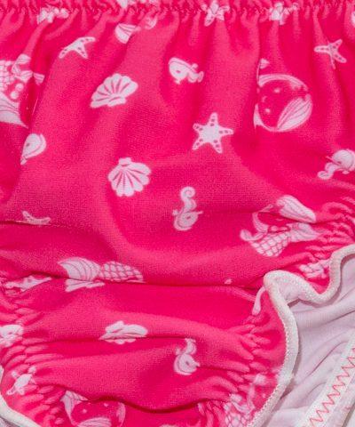бебешки бански от две части с русалки за момиче