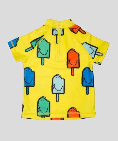 бебешка блуза със сладоледи и слънцезащита UPF 50+