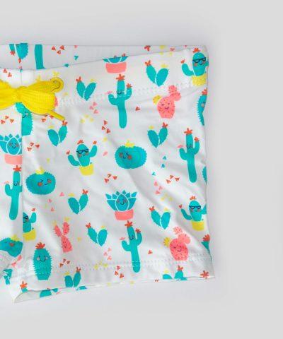 детски бански с кактуси за момче