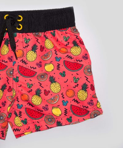 бебешки и детски бански Мики Маус и плодове за момчета