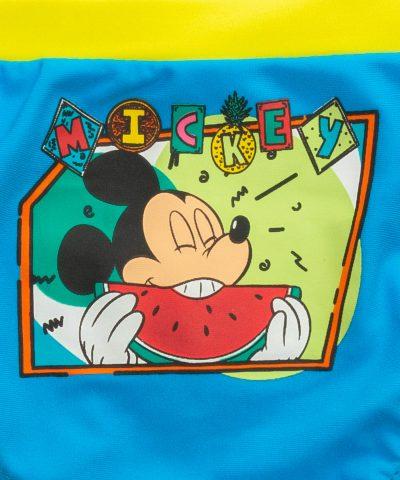 бебешки и детски бански Мики Маус хапва диня за момче