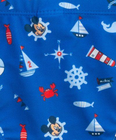 бебешки и детски бански Мики Маус на море за момче