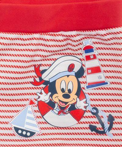бебешки и детски бански Мики Маус капитан за момче