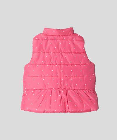 бебешки и детски елек в розов цвят