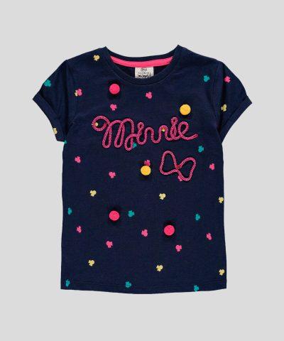 Детска тениска Мини Маус за момиче