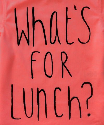 Тениска What's for lunch
