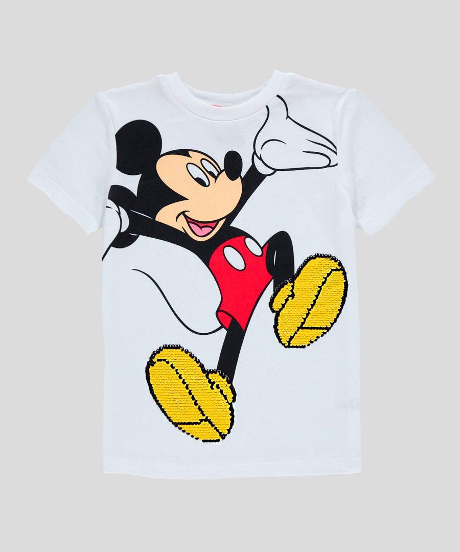 бебешка и детска интерактивна тениска Мики Маус за момче