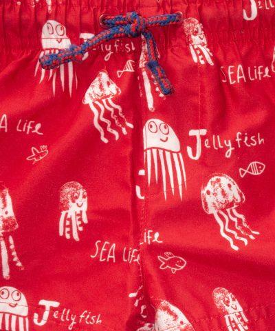 бебешки и детски бански с медузи за момче