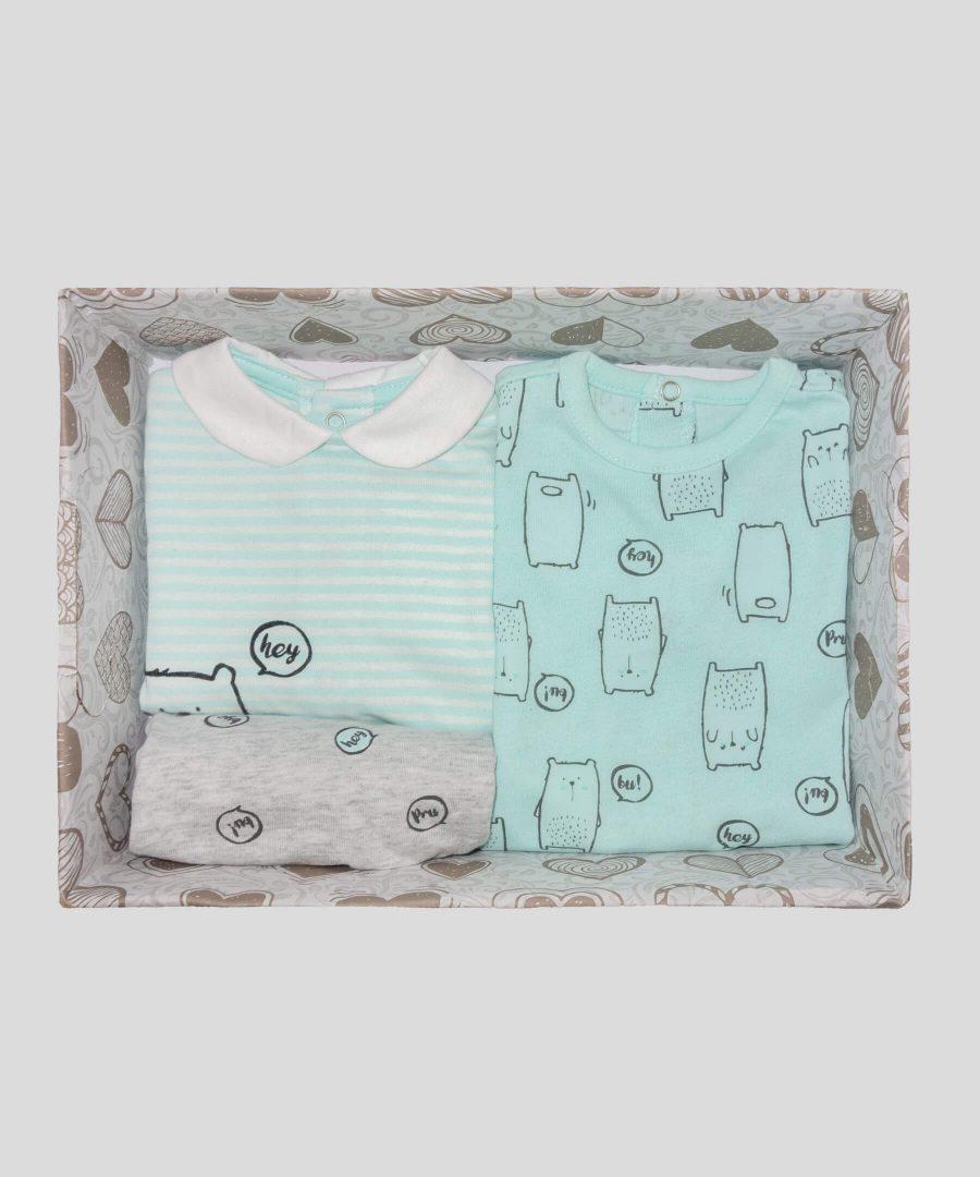 подаръчна кутия за новородено #1 за бебе момиче или бебе момче