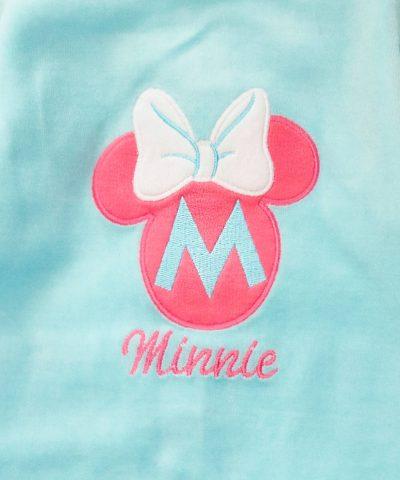 бебешки плюшен гащеризон Мини Маус за момиче