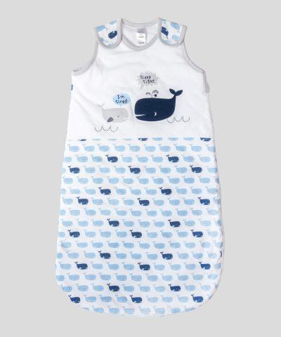 бебешки спален чувал с китове 2.5тог