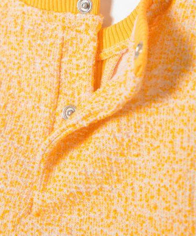Бебешка блуза с жълъд в жълт цвят