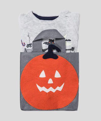Плюшен гащеризон Halloween за момче