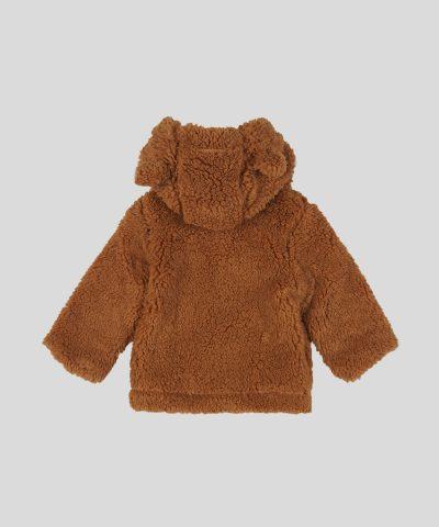 Пухена термо жилетка с качулка за бебе или дете