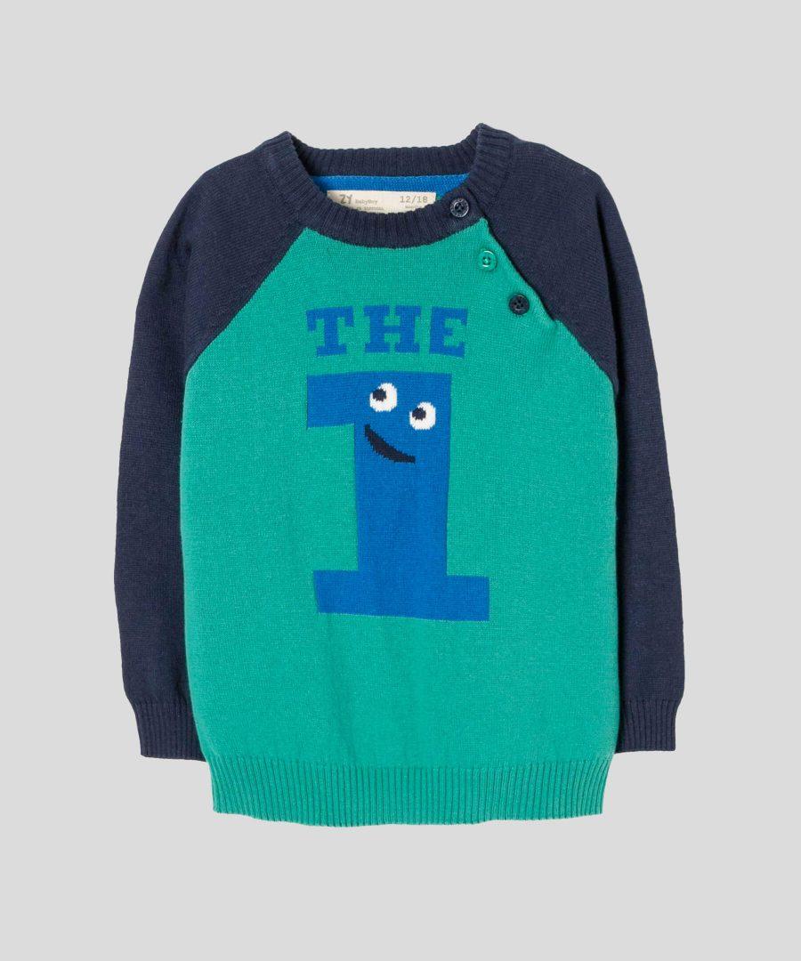 Бебешки и детски пуловер The 1 за момче