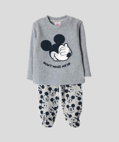 Бебешки и детски комплект блуза и ританки с Мики Маус за момче