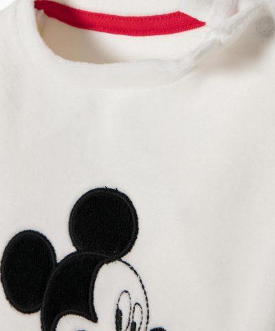 бебешки комплект от плюш с Мики Маус за момче