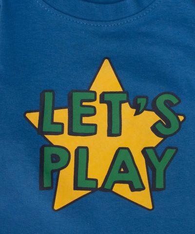Бебешка и детска Блуза Let's play за момче
