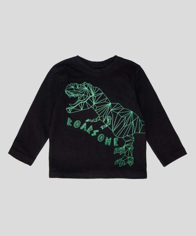 Детска блуза Roarsome, светеща в тъмното за момче