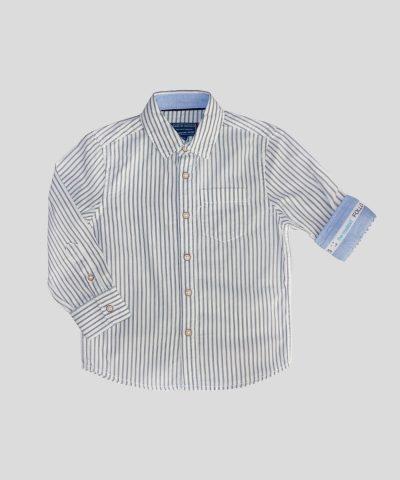 детска риза райе от био памук