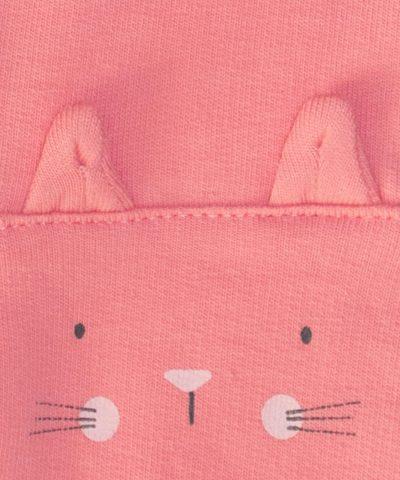 бебешки комплект с котета и мишлета за момиче