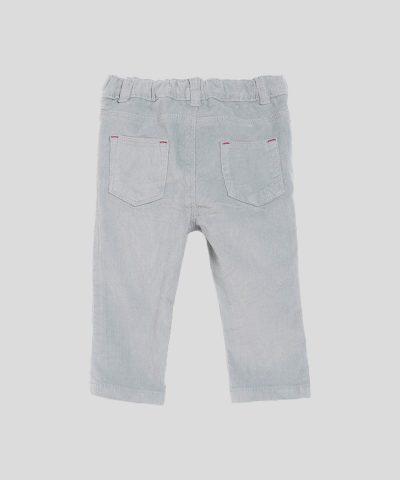 Момчешки джинси в сиво-син цвят
