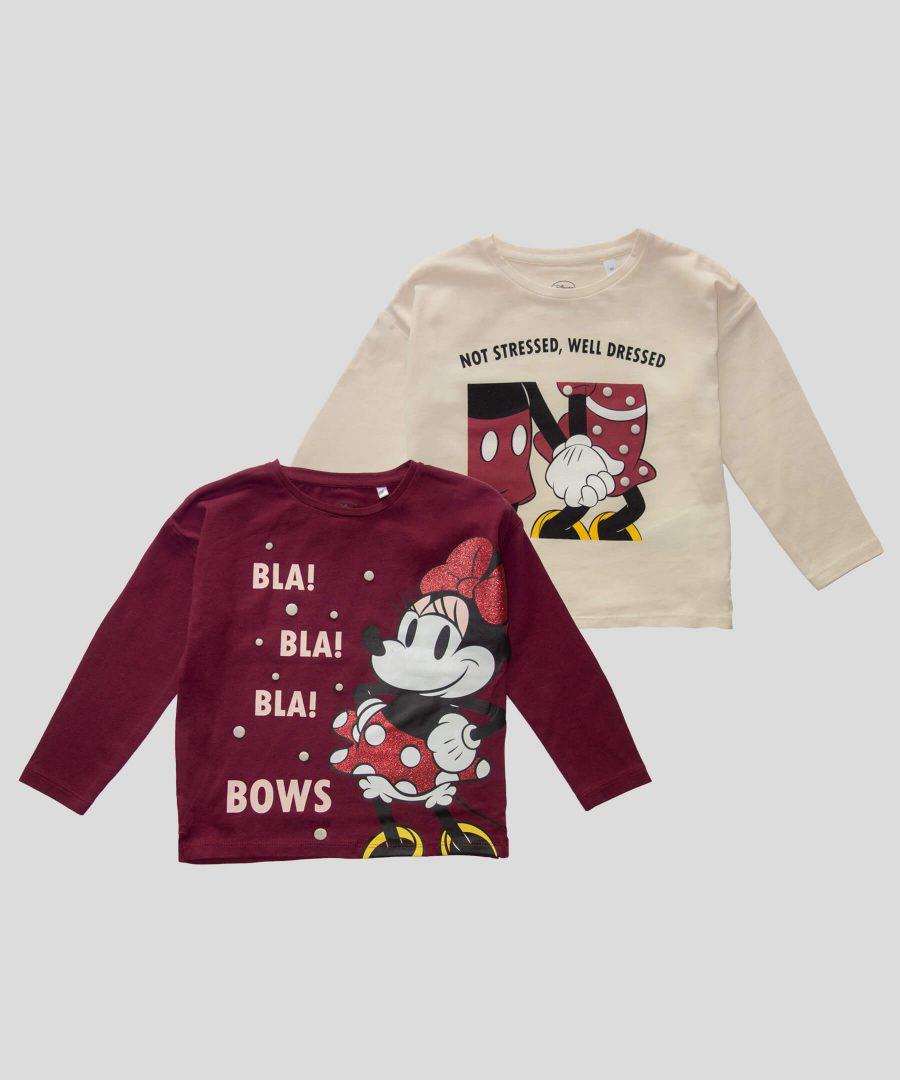 Комплект блузи Мини Маус от био памук