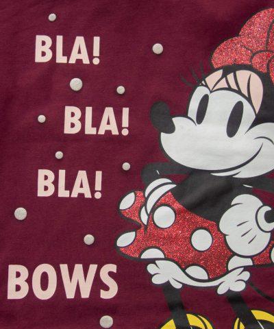 Блузи Мини Маус от био памук за момичета