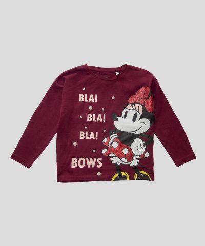 Детски блузи Мини Маус от био памук