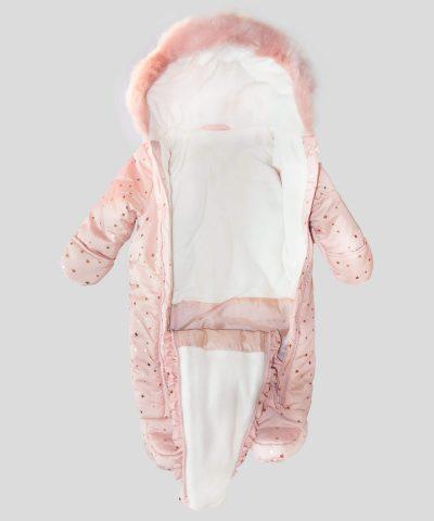 Бебешки космонавт в розов цвят