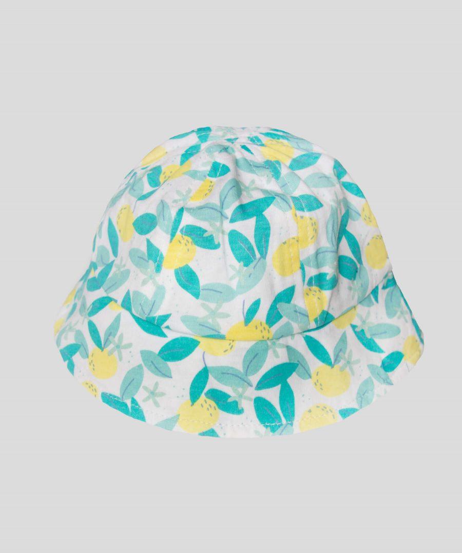 Лятна шапка с лимони