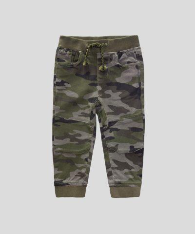 Панталон с камуфлажен десен