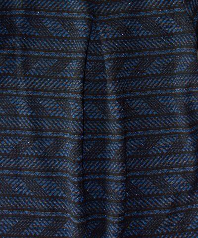 Рокля в синьо и черно за деца до 7г