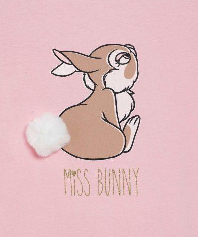 Розова рокля на Дисни със зайче