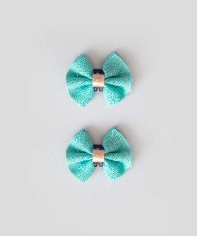 бебешки и детски Комплект 2бр. шноли за коса - мини панделки