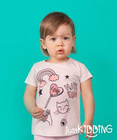бебешка тениска have fun