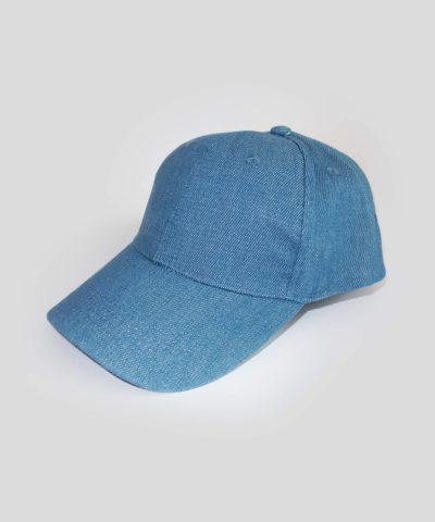 Дънкова шапка с козирка