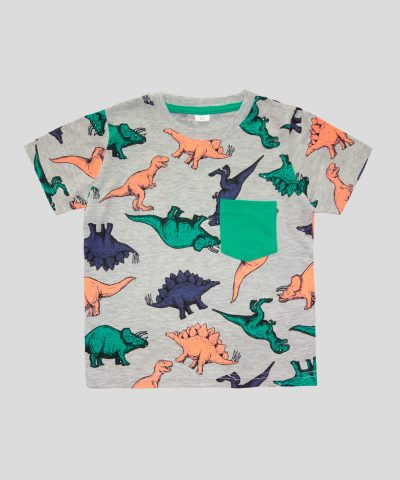 Пижама с динозаври
