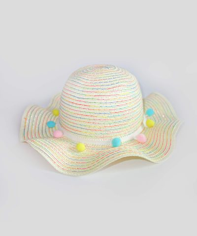Сламена лятна шапка за слънце