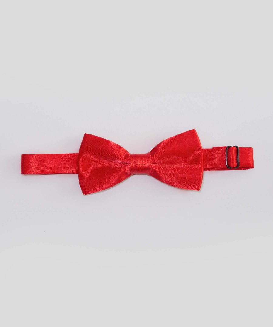 папийонка в червен цвят