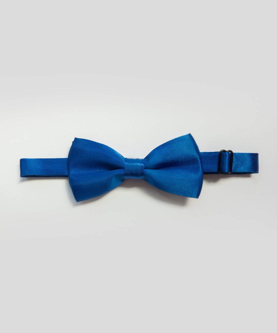 папийонка в син цвят
