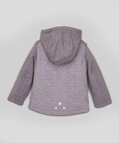 Softshell яке в сив цвят с мембрана за деца от 1 до 7г.